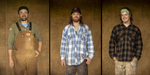 Taylor Larsen, Austen Larson, and Ben Larson are the trio running My Brother's Farm near Creswell. The 320-acre farm raises bison, pigs and hazelnuts as its primary products.  [Andy Nelson/The Register-Guard] - registerguard.com