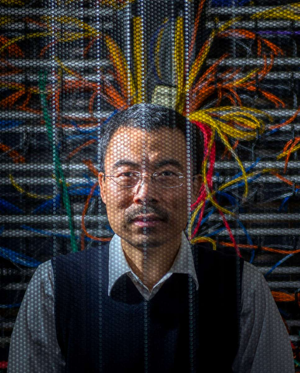 """University of Oregon Associate Professor Jun Li, Department of Computer and Information Science, created the Center for Cyber Security and Privacy, won a national """"center of excellence"""" designation, claimed a federal grant and began laying plans for an advanced degree in the subject."""