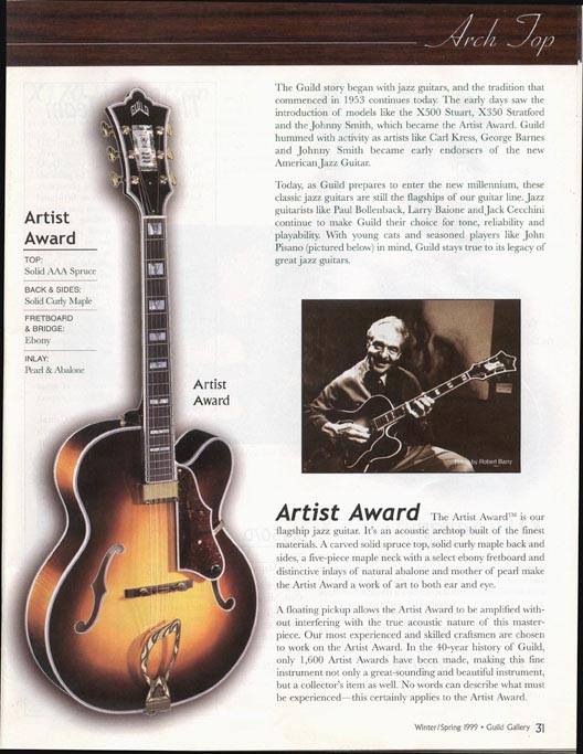 John Pisano - Guild Guitars