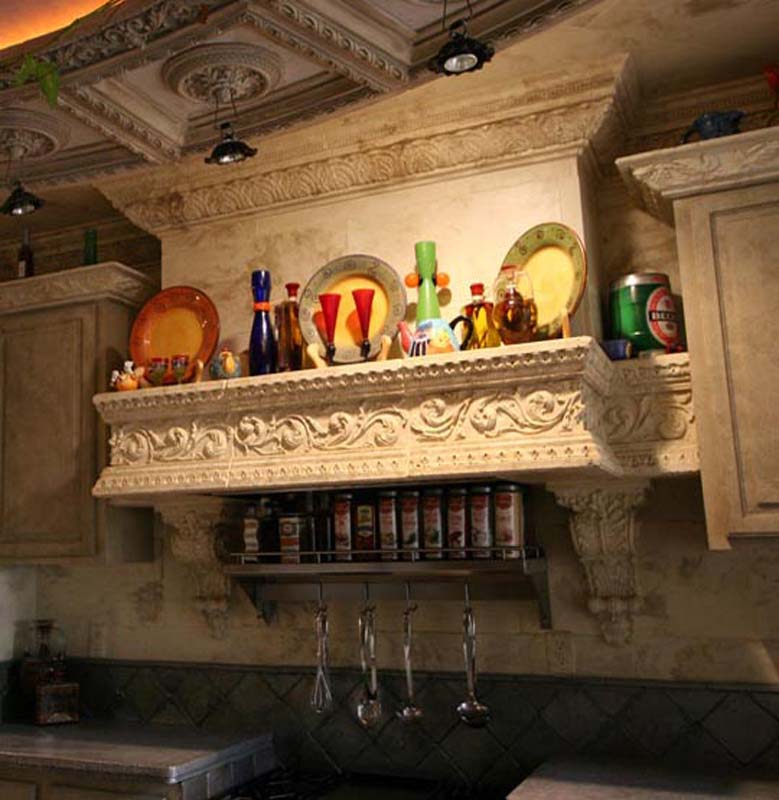 ... ARCHITECTURAL EMBELLISHMENTS: Kitchen Hoods: Custom Kitchen Hood
