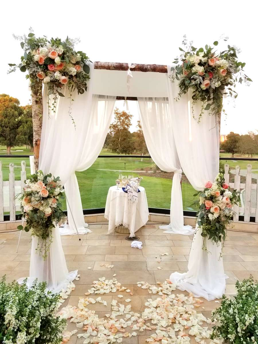 Birch-Log-Chuppah