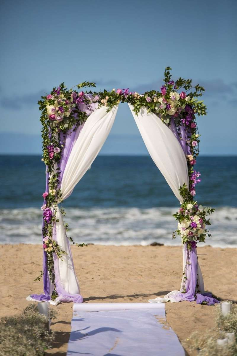 Greens-and-floral-dressed-arch