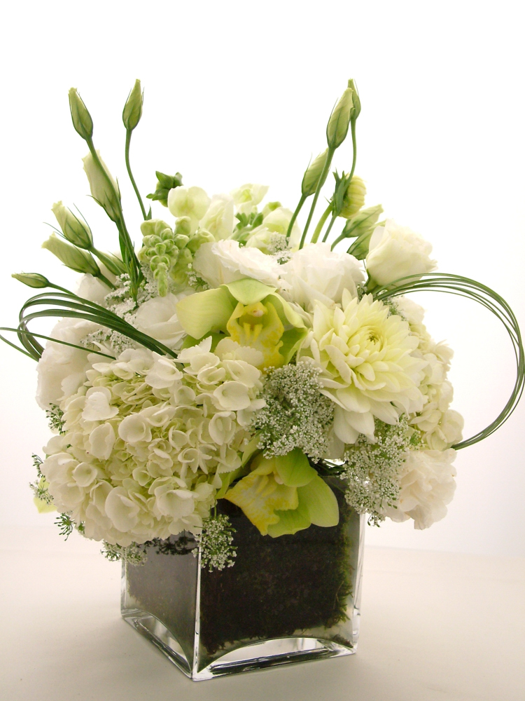 White_Low_Centerpieces