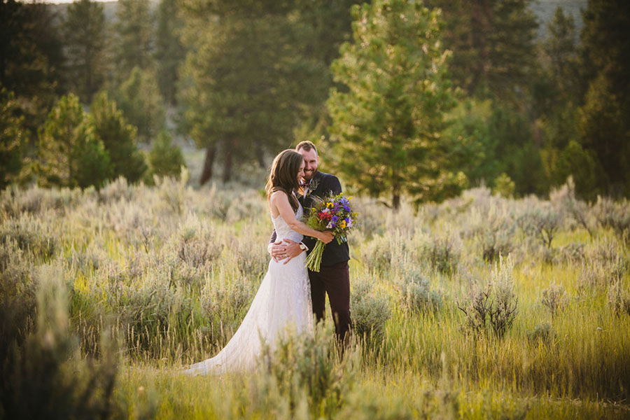 Bonnie and Sam\'s Alpine Meadow Wedding in Oregon
