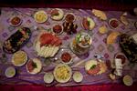 Roshkala region, Tajikistan 2011-A rich feast.