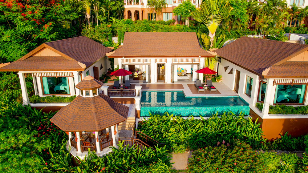 intercontinental-beach-villa-aerial-drone-shot
