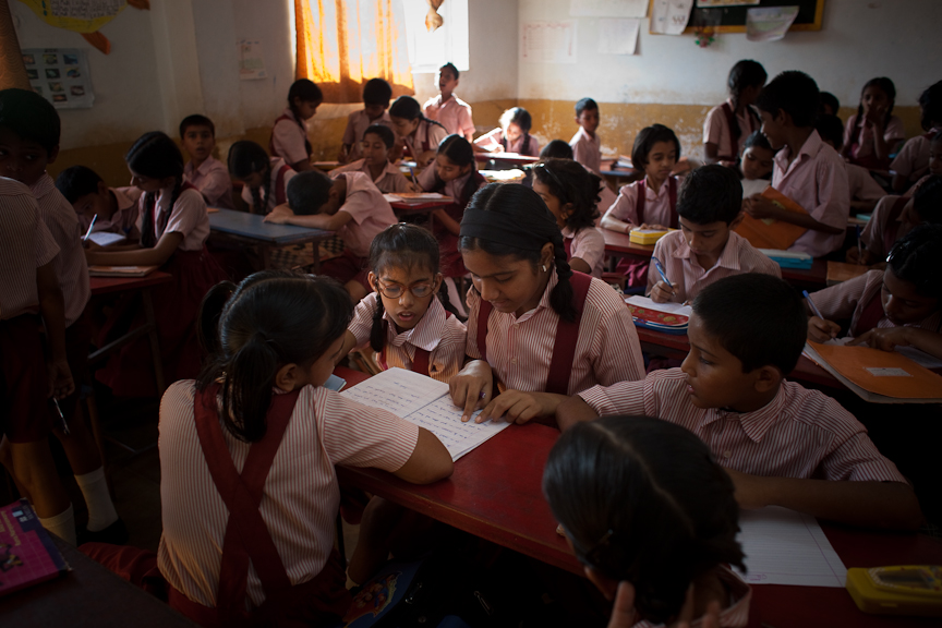 A new movement in the southern state of Goa is promoting {quote}resource rooms,{quote} special classrooms within the tradtional school setting that allow children to get individualized educations while interacting with other students.