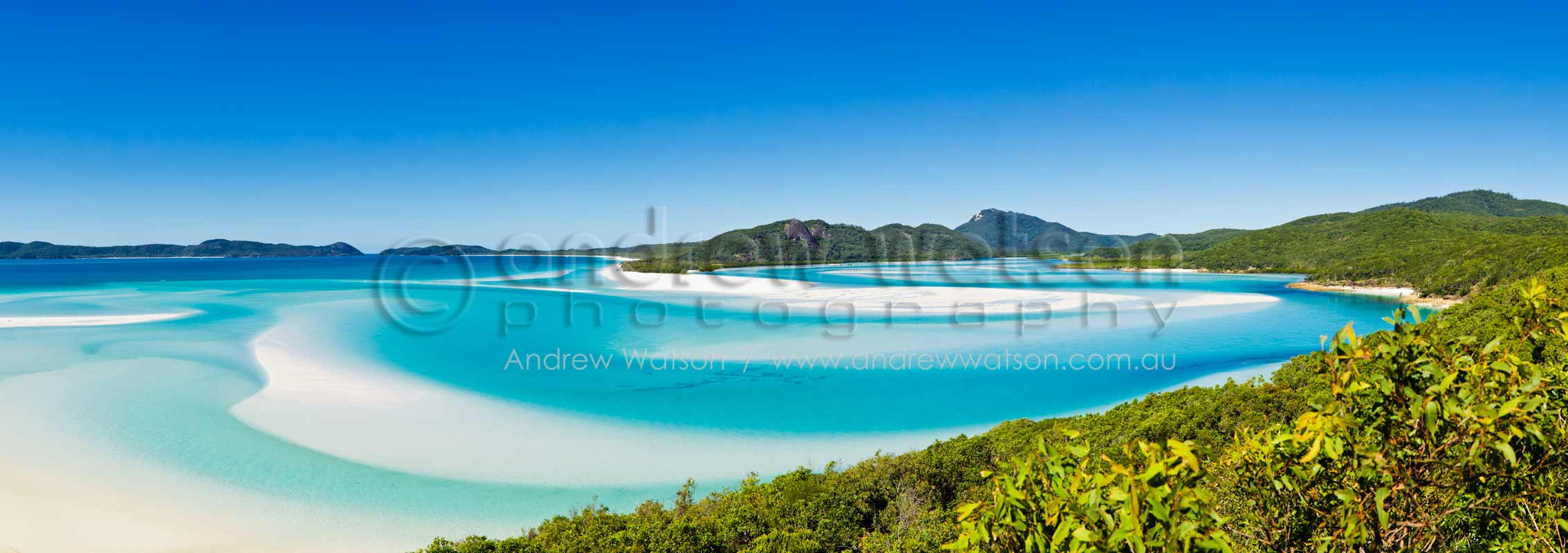 Shifting coloured sands of Hill InletWhitsundays, North QueenslandImage available for licensing or as a fine-art print... please enquire