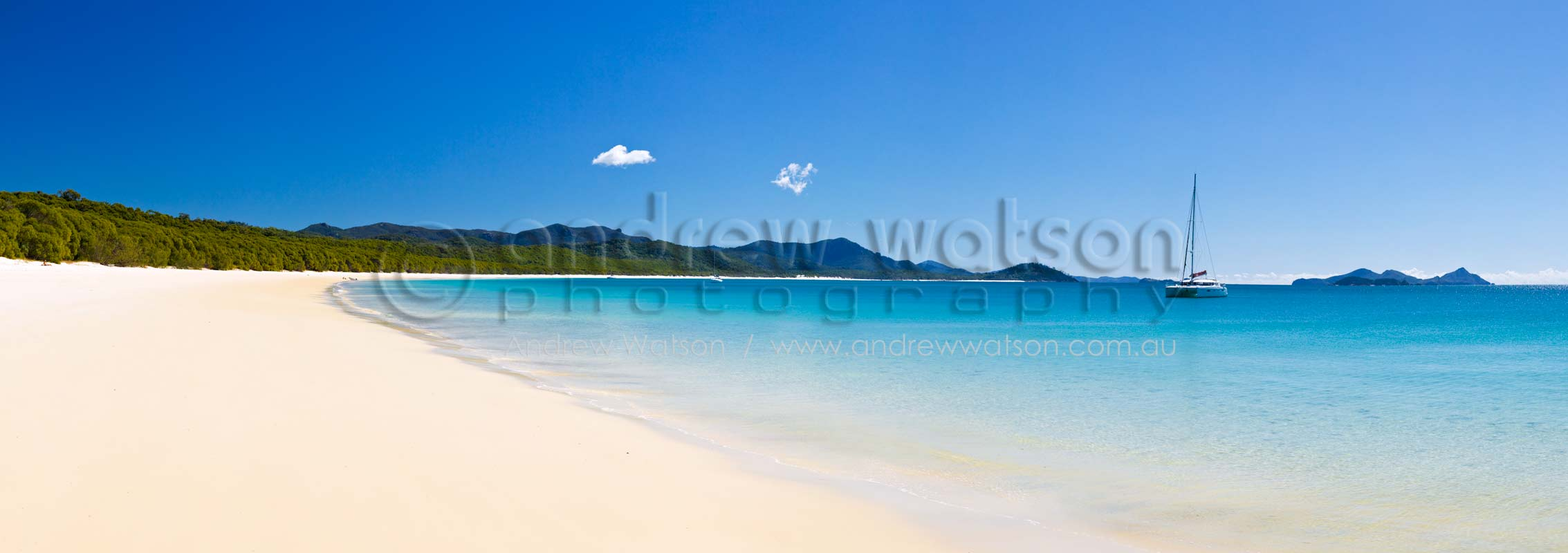 View along Whitehaven BeachWhitsunday Islands, North QueenslandImage available for licensing or as a fine-art print... please enquire