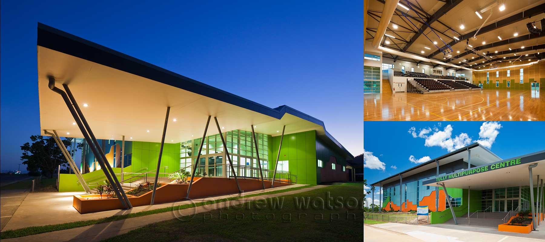 Architecture photography - Tully Multi-Purpose Centre
