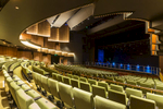 Lower tier view of main theatre in the Cairns Performing Arts Centre