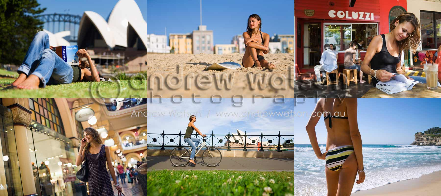 Tourism & Lifestyle Photography - Images of tourist enjoying the summer lifestyle in Sydney