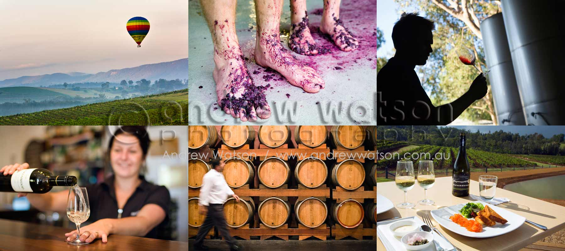 Lifestyle & Tourism Photography - Winery images from the renowned Hunter Valley wine region, Australia