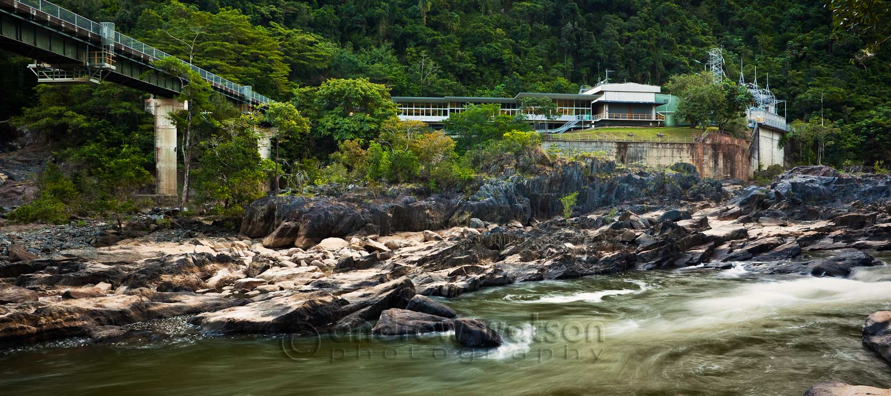 Architectural photography - Barron Gorge Hydro Power Station, Cairns