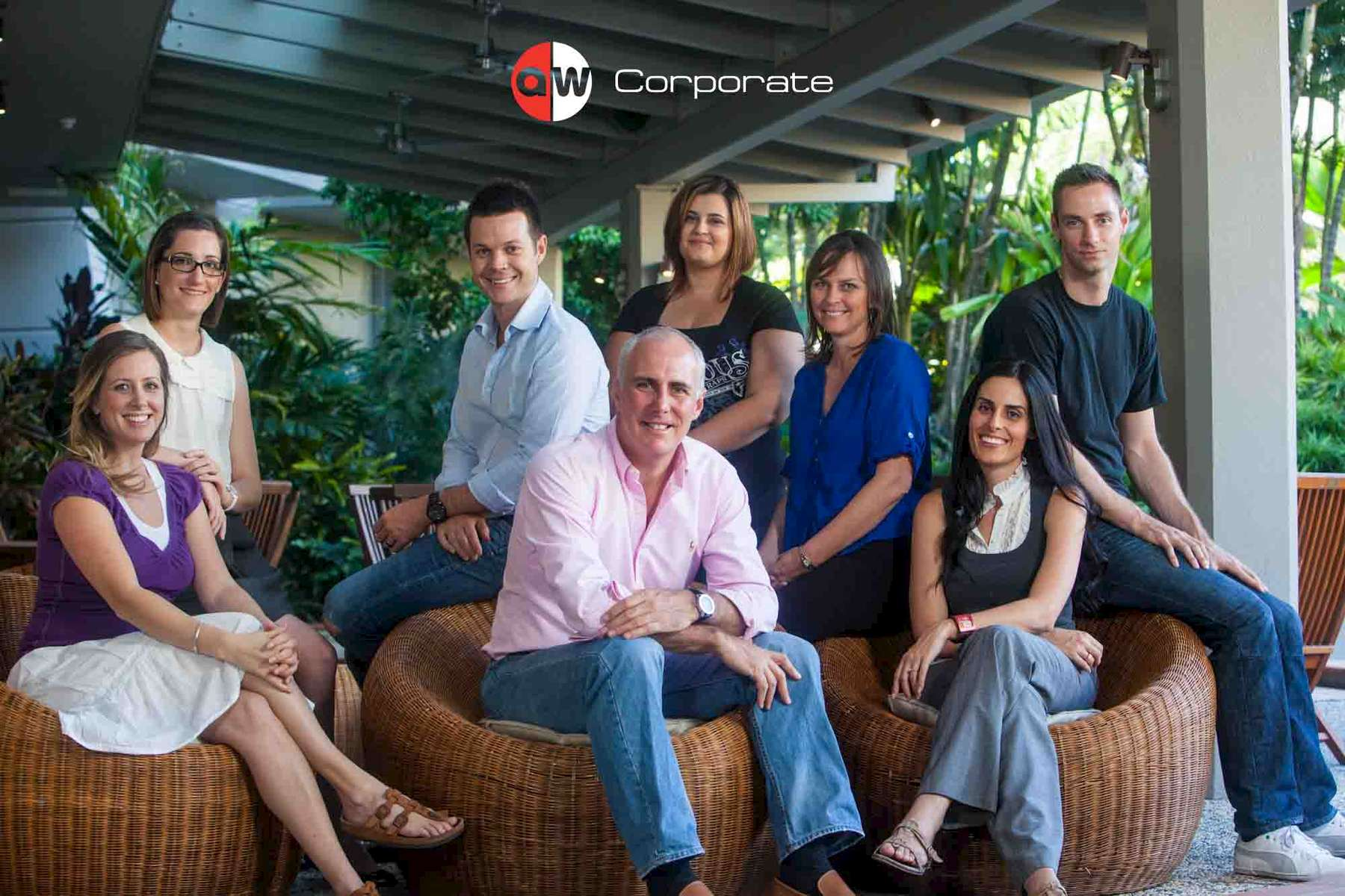 Business portrait of the Koolivoo team - Cairns corporate photographer