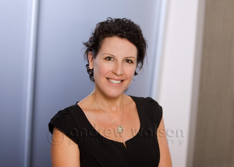 Corporate Photography - Environmental corporate headshot for accounting firm