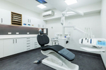 Dentist's chairs in treatment room at South Cairns Dental