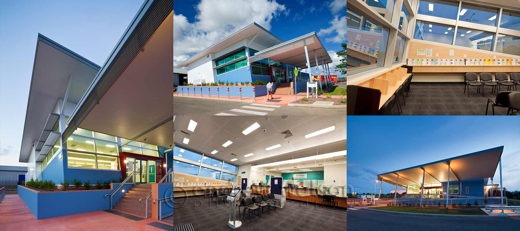 Architectural photography - Innisfail Dept. of Transport Customer Service Centre