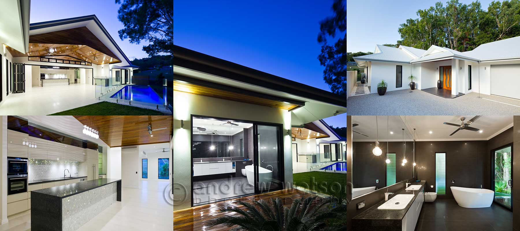 Architectural photography - Custom-built home, Cairns