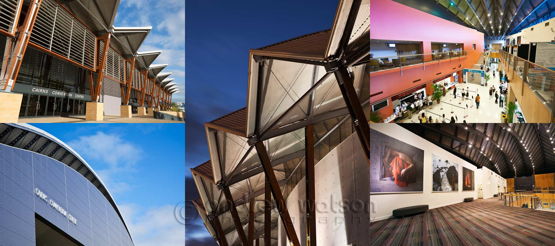 Architecture photography - Cairns Convention Centre