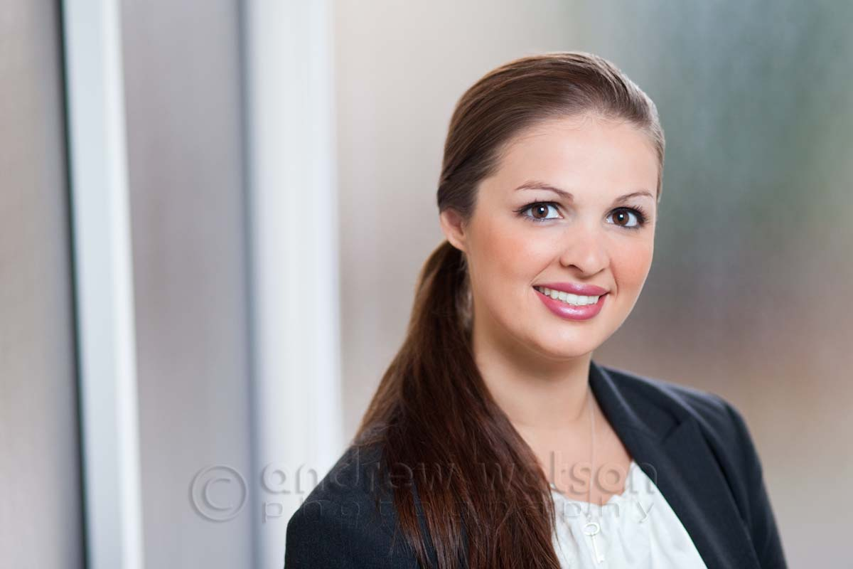 Corporate Photography - Environmental corporate headshot for law firm