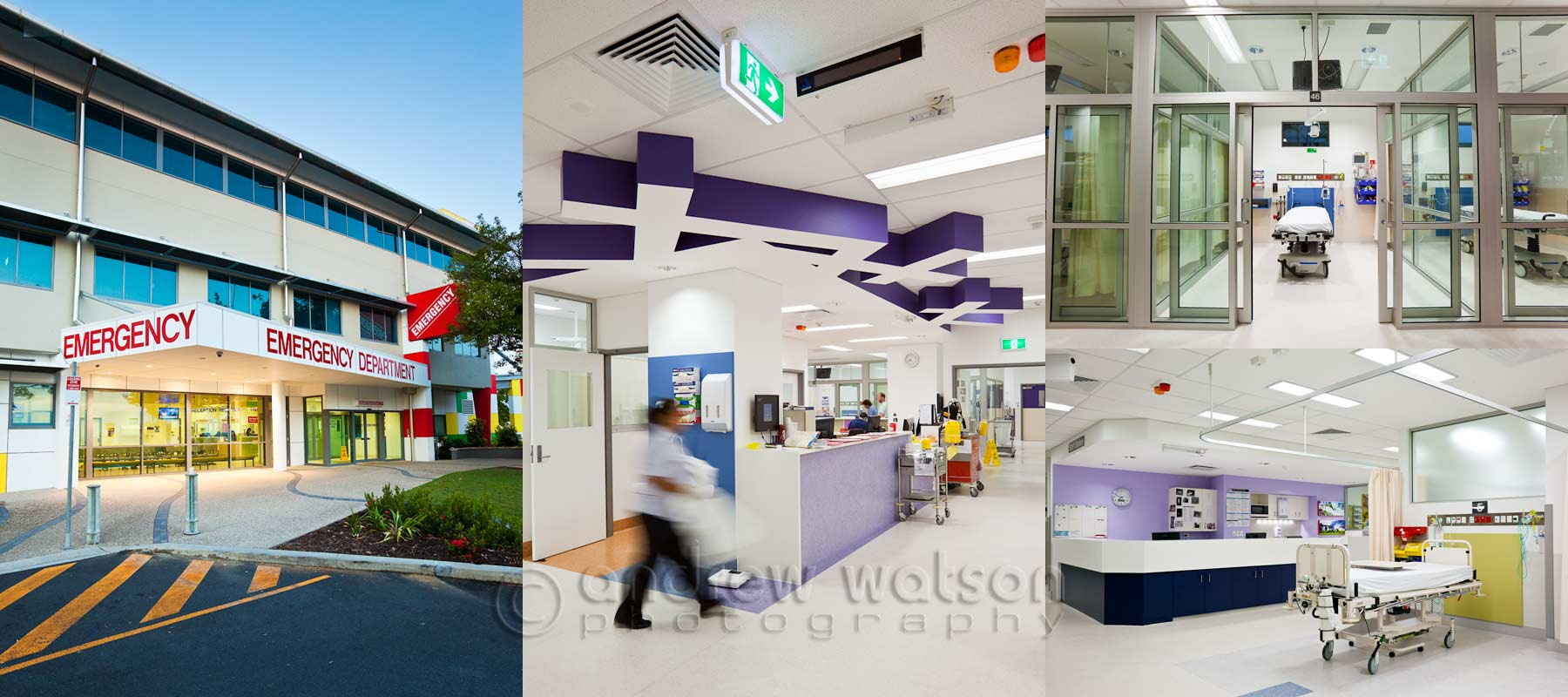 Architecture Photography - Cairns Base Hospital Emergency Department
