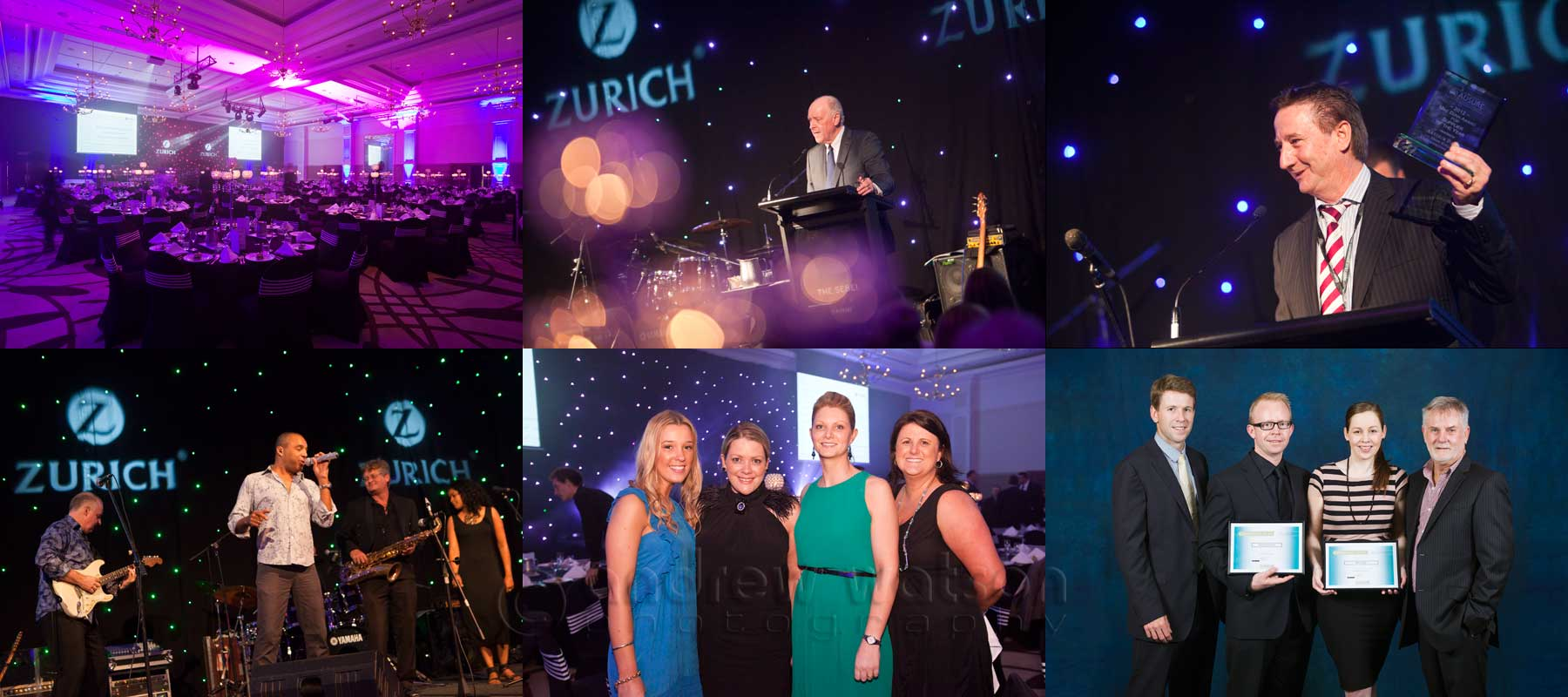 Conference Photography - Images captured at Ausure Conference Gala Dinner, Pullman International Cairns