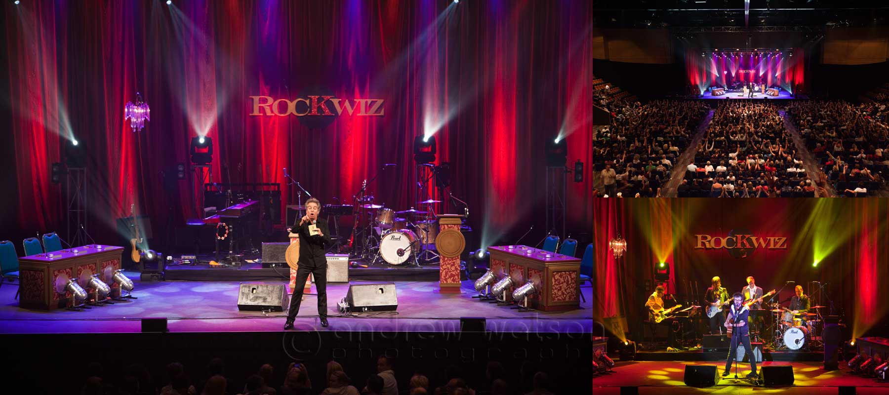 Events Photography - Images captured at RockWiz performance, Cairns Convention Centre