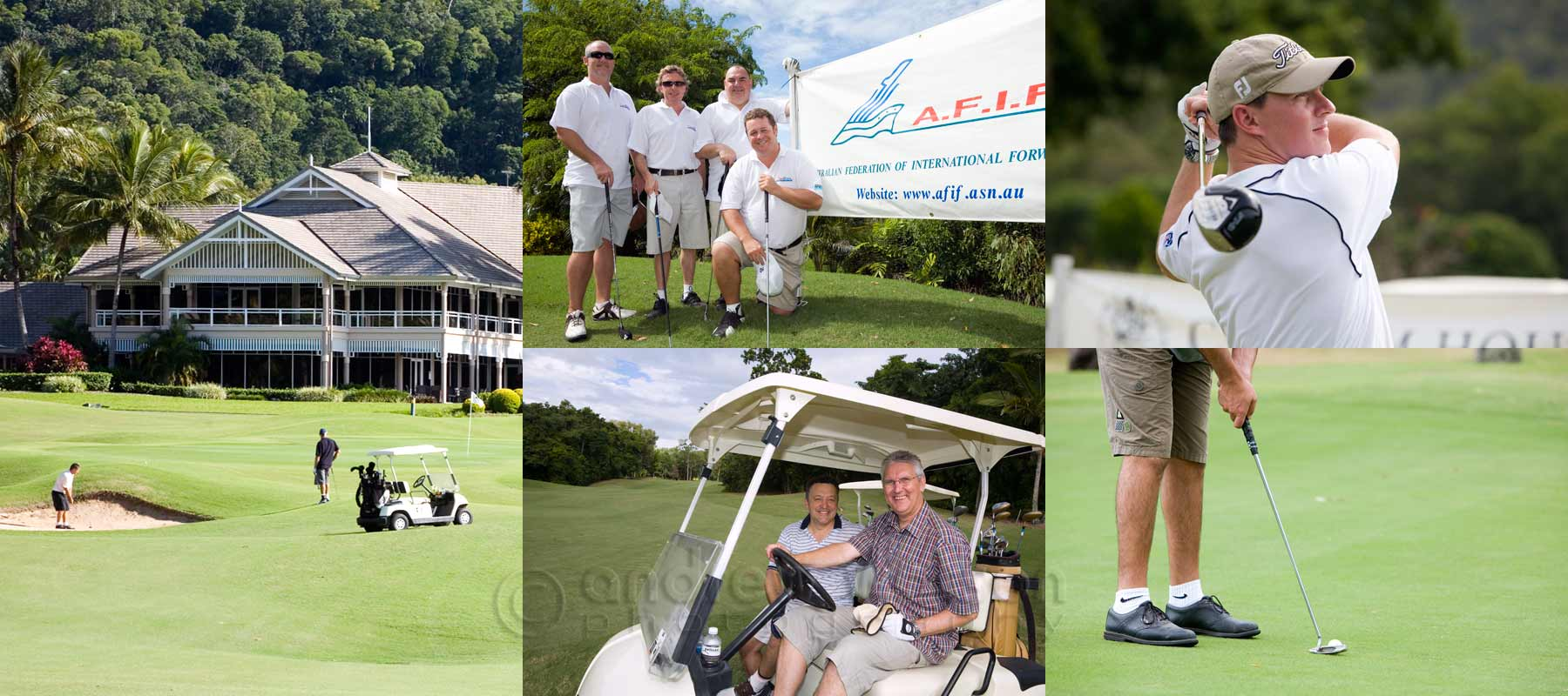 Event Photography - Images captured at AFIF Conference Golf Day, Paradise Palms Cairns
