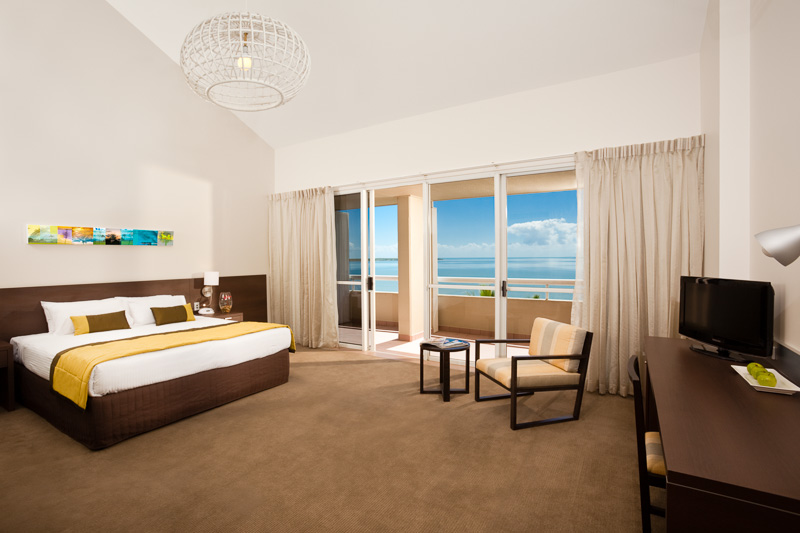 Interior of executive suite at the Mercure Harbourside Cairns