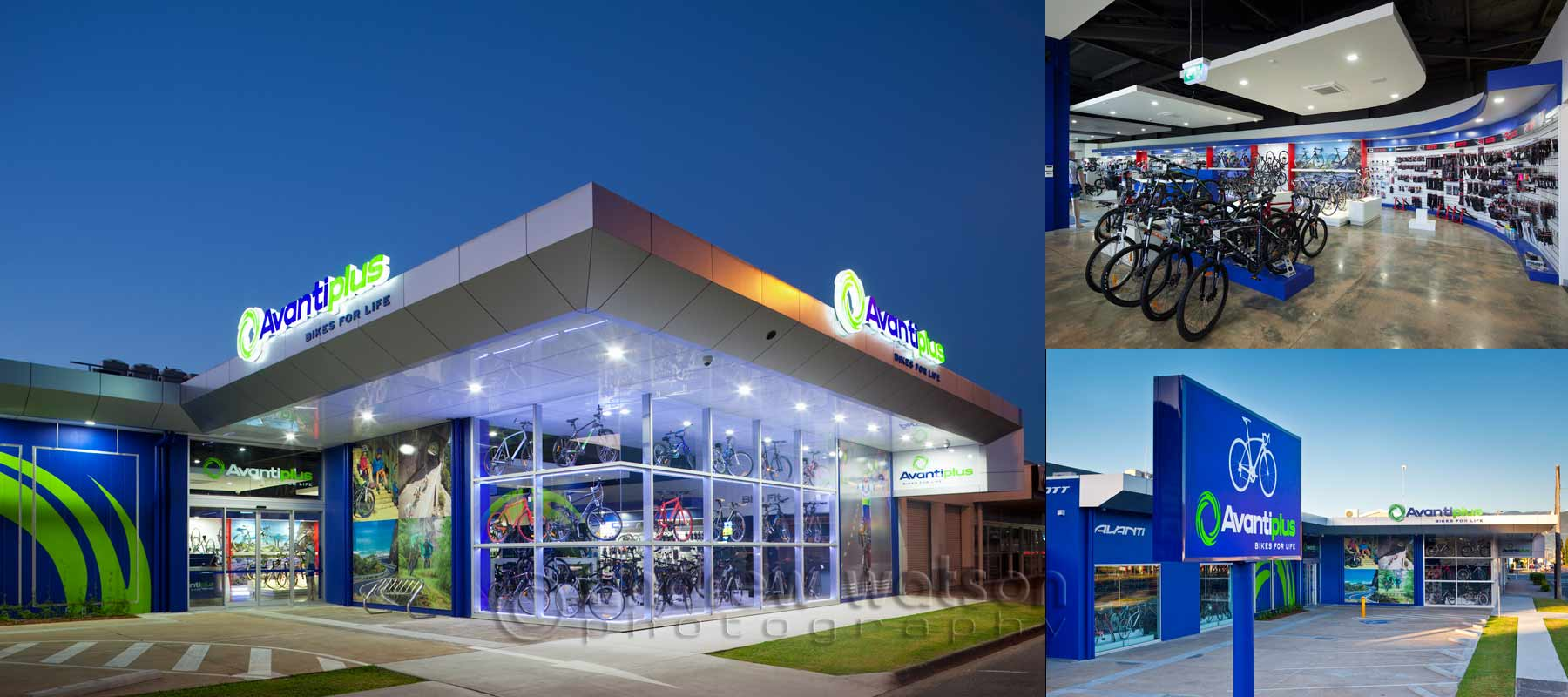 Commercial photography - AvantiPlus Bike Store, Cairns