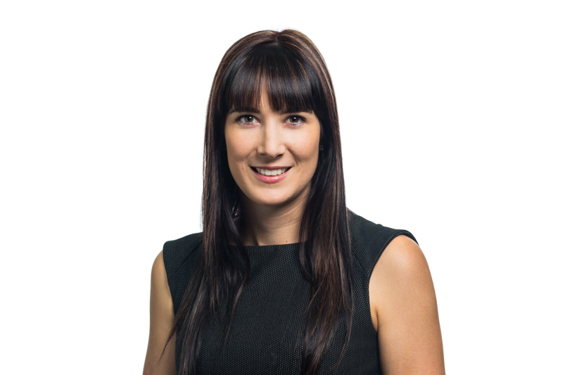 Professional headshot of female accountant with white background, Cairns