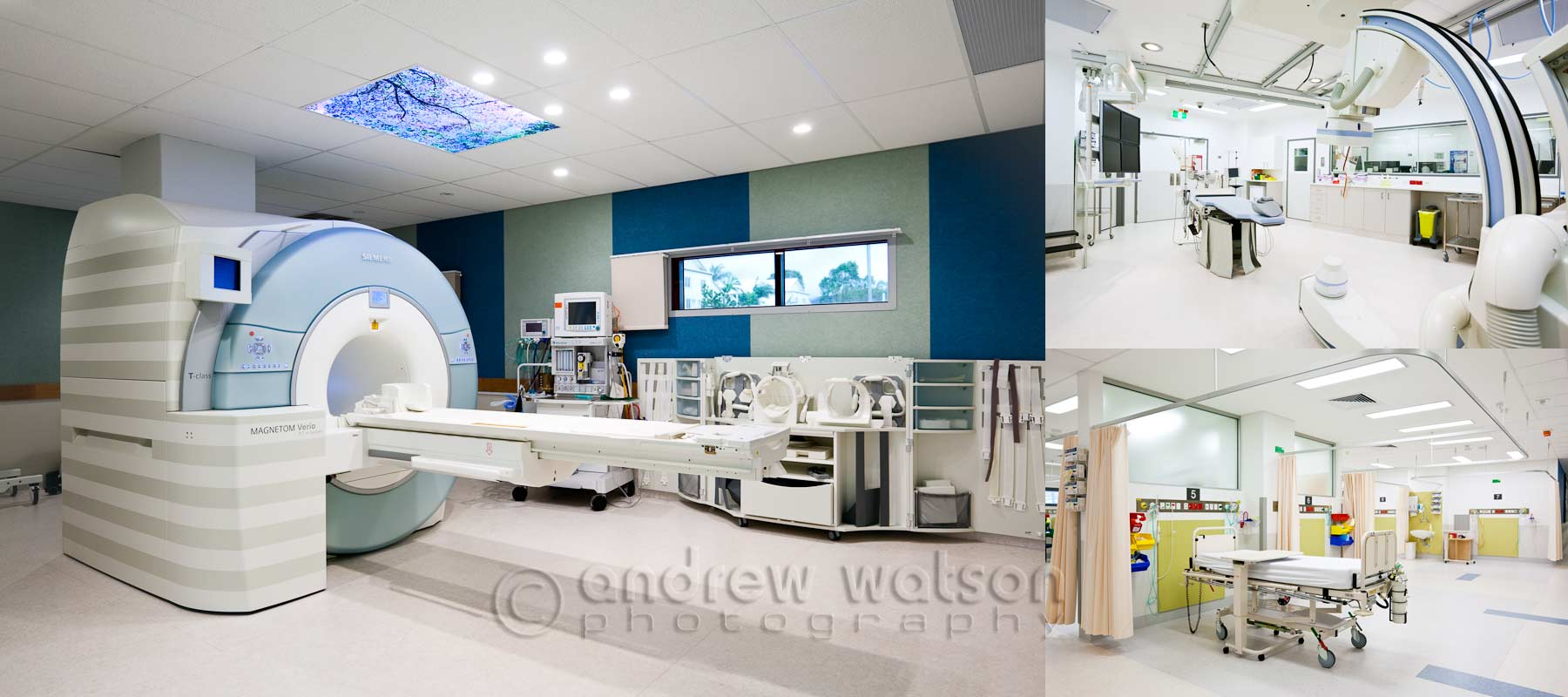 Architecture photography - Cairns Base Hospital MRI & Cath-Lab