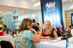 Tourism delegates networking at the 2014 International Media Marketplace appointments in Cairns