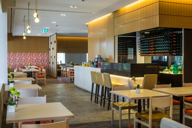 Interior of the Shangri La Horizon Lounge in Cairns