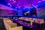 Interior of the Vmax lounge at Event Cinemas Smithfield Cairns