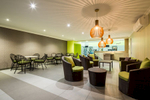 Lounge area at the Ocean's Edge Fitness Centre, Palm Cove