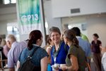 Female delegates networking at GP13 Conference in Darwin