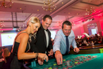 Delegates playing roulette at 2017 Clark Rubber Conference Gala Dinner in Cairns