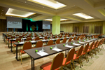 Conference room setup at the Pullman Reef Hotel Casino, Cairns