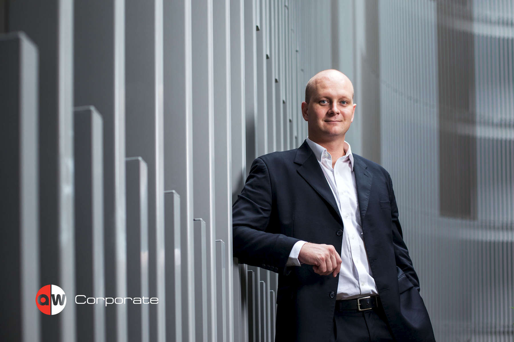 Portrait of Mark Turnbull, businessman, with industrial background by Cairns photographer