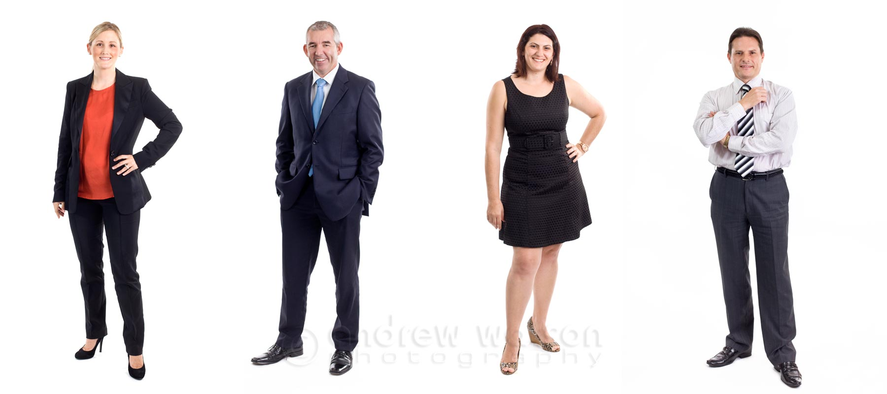 Corporate Photography - Studio business portraits for accountancy firm