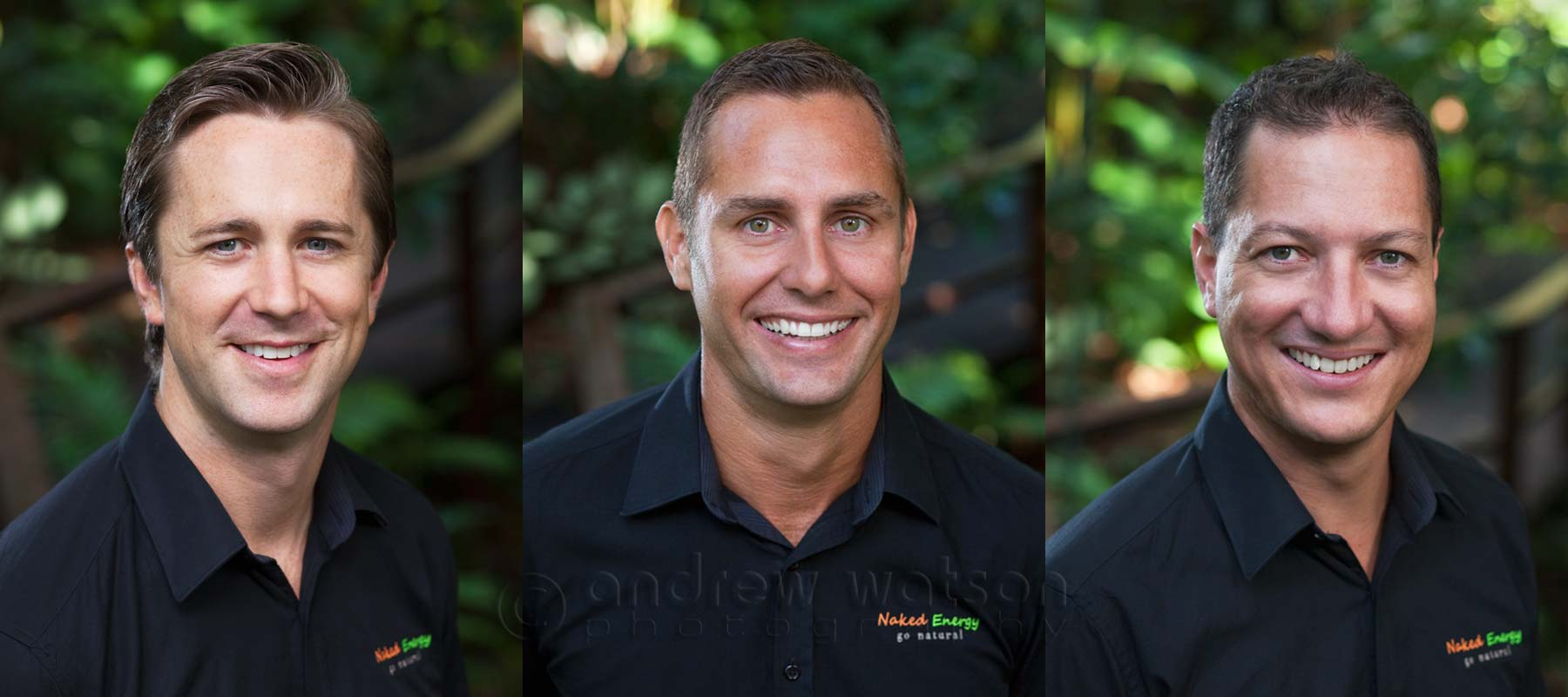 Corporate Photography - Location corporate headshots for renewable energy company