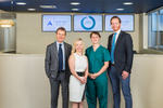 Corporate portrait of the staff at Integrated Medical Services, Cairns