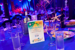 Themed table setting at AVA Annual Conference Gala Dinner in Cairns