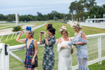 Ladies fashions on show at the race course in Cairns