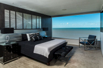 Bedroom with views overlooking the Cairns Esplanade