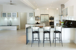Interior of modern kitchen in residential hme, Cairns