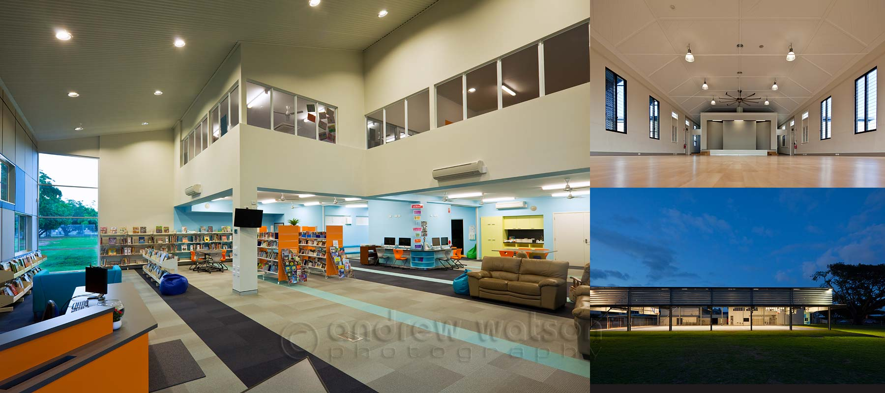Architecture photography - Mother of Good Counsel School, Cairns