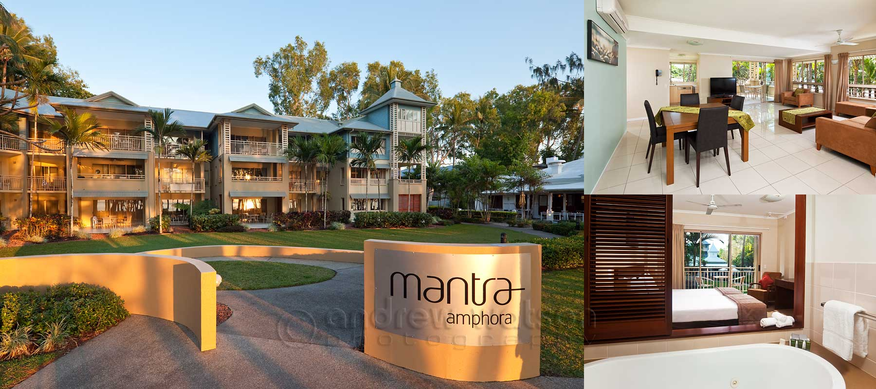 Resort photography - Mantra Amphora, Palm Cove